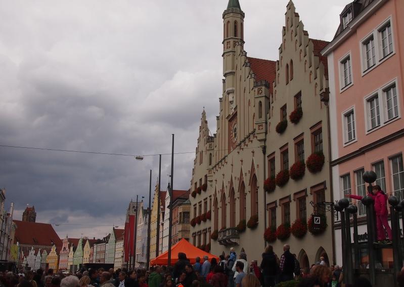 Altstadt in Landshut
