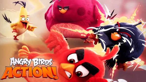 Angry Birds Action Mega MOD APK Data Game Download