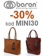 Baron torebki kod na 30%