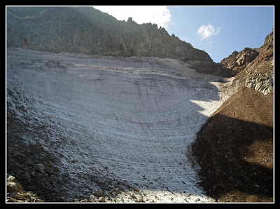 Collado y Glaciar del Portillón