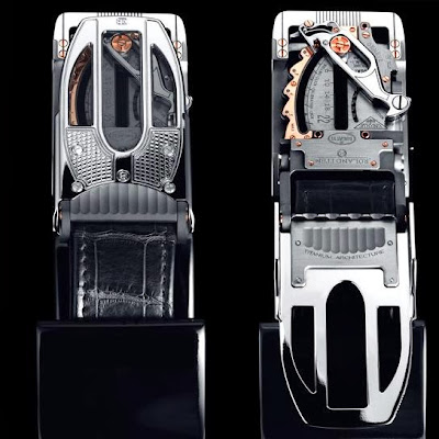 The Most Expensive Belt by Bugatti