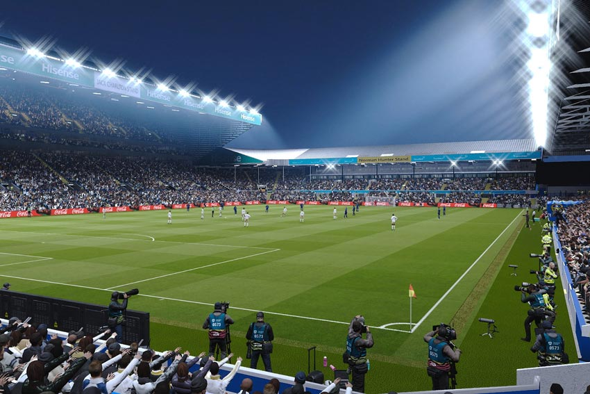 Stadium Elland Road For eFootball PES 2021