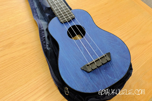 Flight TUSL-35 Concert Scale Soprano Ukulele body