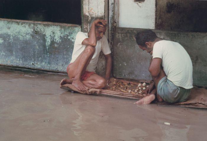 Шахматисты, Муссонные Наводнения, Бенарес, Уттар-Прадеш