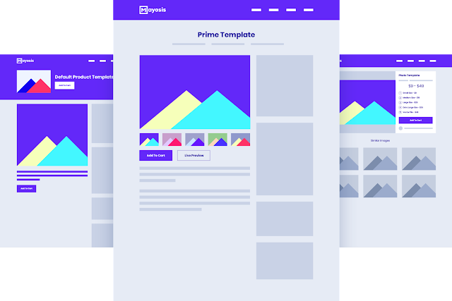 Multiple-Product-Templates