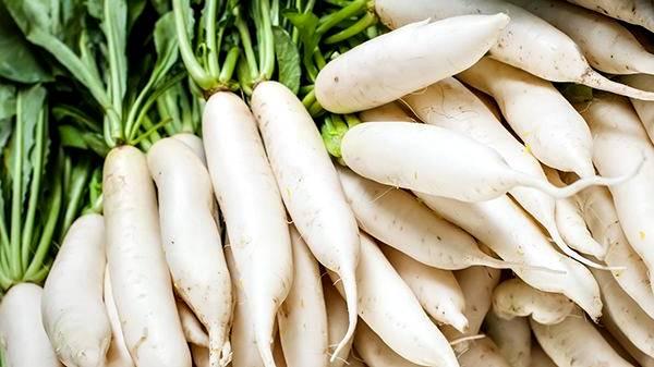 Propiedades nutricionales del daikon o rábano japonés