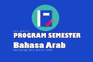 Prosem Bahasa Arab MA Kurikulum 2013 Revisi