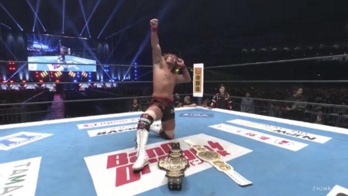 Tetsuya Naito recupera os IWGP Heavyweight e Intercontinental Championship