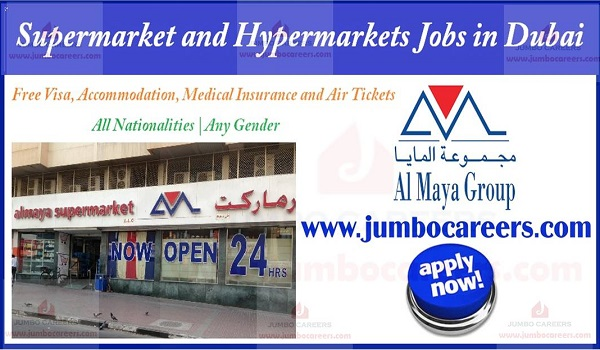 How to apply for Supermarket jobs in Dubai, Dubai Supermarket job description,