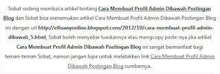 Cara Menciptakan Permalink Di Weblog (Otomatis)