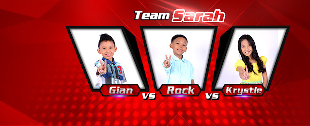 Team Sarah Gian the battles