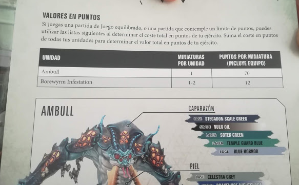 40k Rules for the Dreaded Ambull