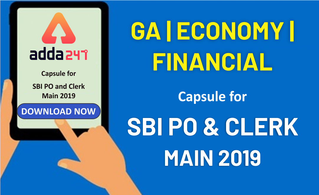 SBI PO and Clerk GA Power Capsule for Main 2019 | Download Now