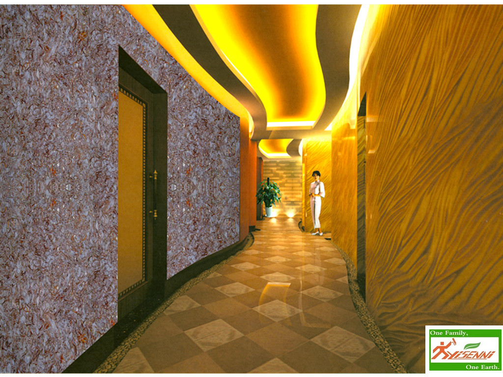 Yisenni Wall Coating Suggest How To Decorative Corridor
