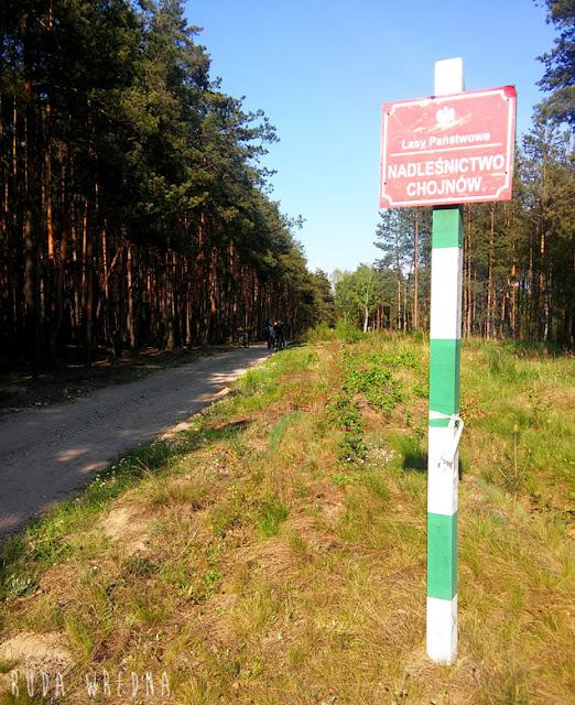 droga rowerem do czerska