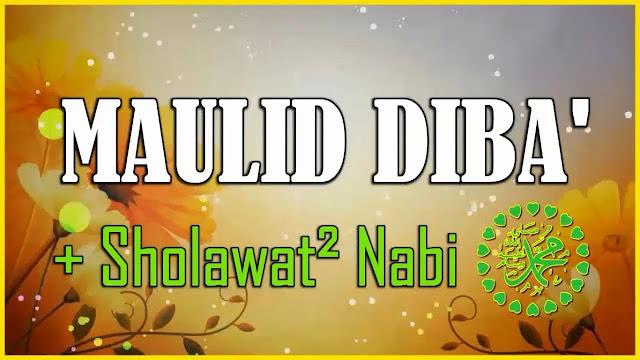 Lirik Syiir Mauilid Diba Alhamdulillahil Qowiyyil Gholib Lengkap