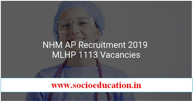 Health & Family Welfare (AP) 1113 Mid Level Health Provider Recruitment 2019