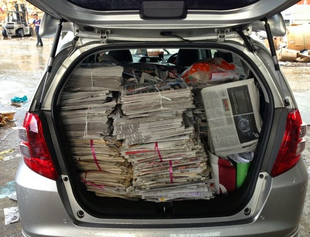 ThinkBangalore: Donate old Newspapers , Be Social , Help