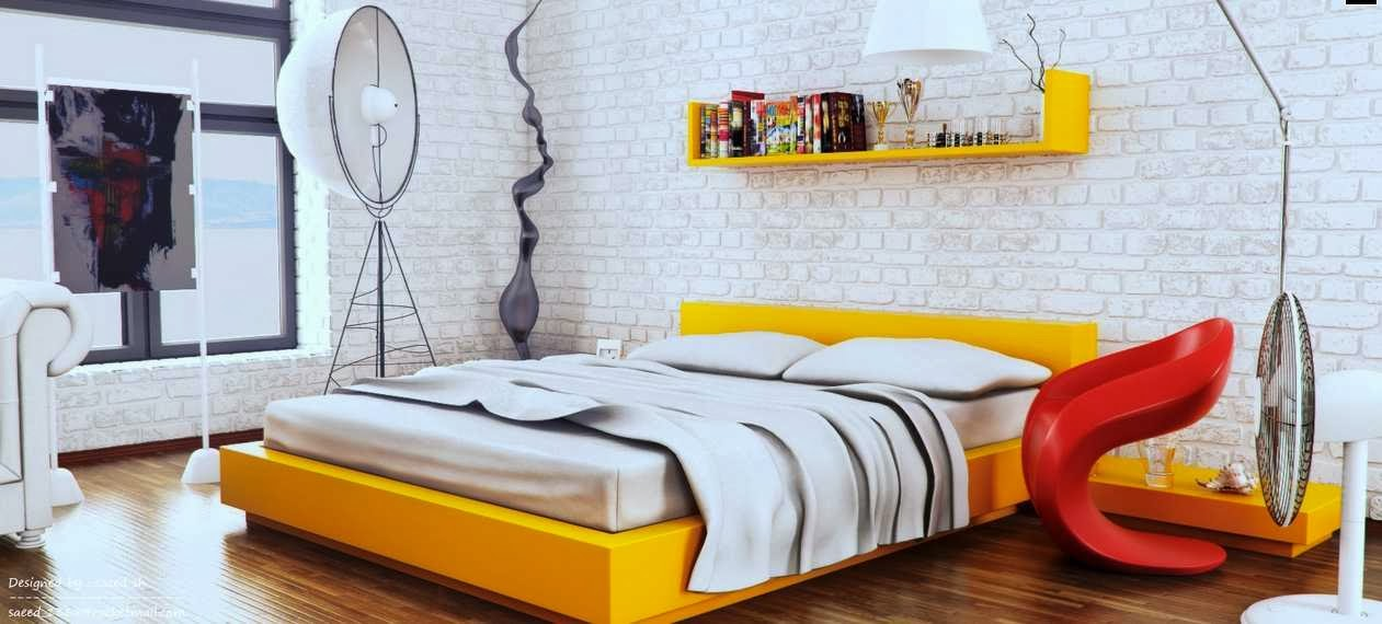 Image of Edgy Bedroom Schemes