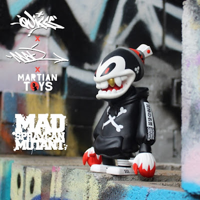 Mad Spraycan Mutant Fortress Edition Vinyl Figure by MAD x Quiccs x Martian Toys