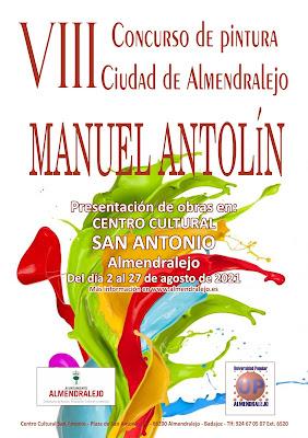 VIII Concurso De Pintura Ciudad de Almendralejo Manuel Antolín