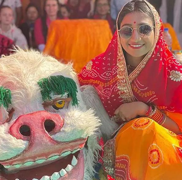 Mohena Kumari Singh ने बना रखी है राजकुमारी की शान