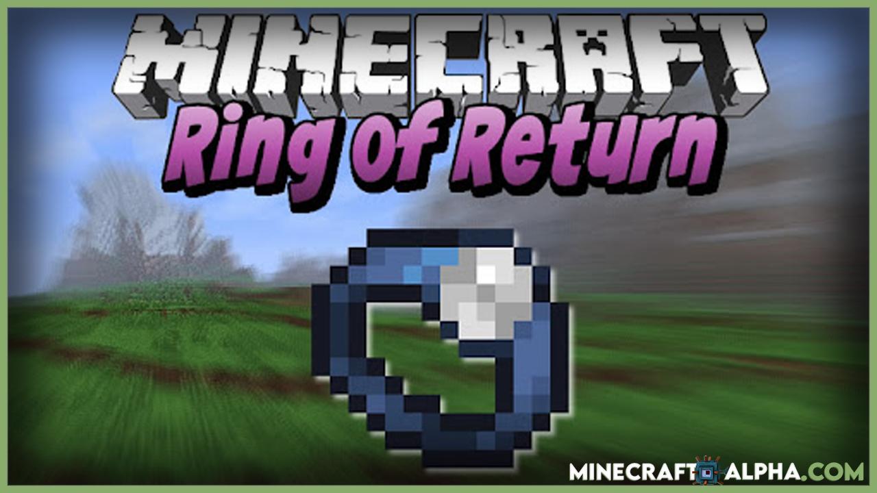 Minecraft Ring of Return Mod