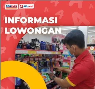 Lowongan Kerja Alfamart Cabang Medan 2021 Penempatan Aceh