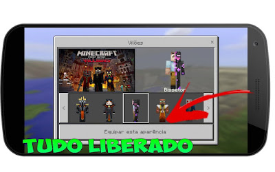 Minecraft Pocket Edition 0.17.0 Build 1 - Apk - All Unlocked [Tudo Desbloqueado]