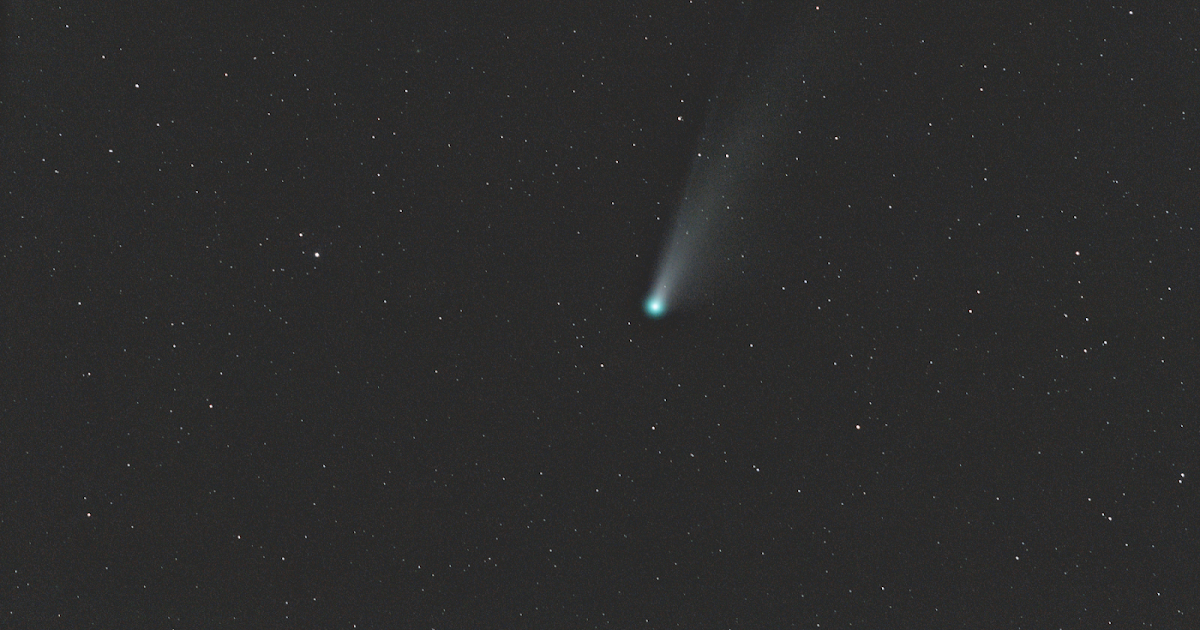 Comet NEOWISE over Stuarts Draft VA II   Taken from Ravens