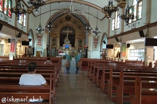 Inside Our Lady of Sorrows Church in Pasay