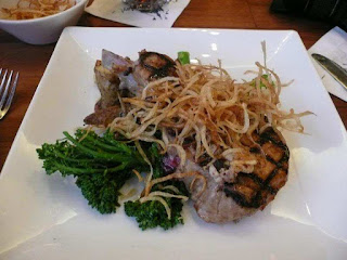 Pomegranate BBQ Pork Chops- Kona Cafe 3