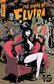 Cover C for The Shape of Elvira #2 from Dynamite Entertainment