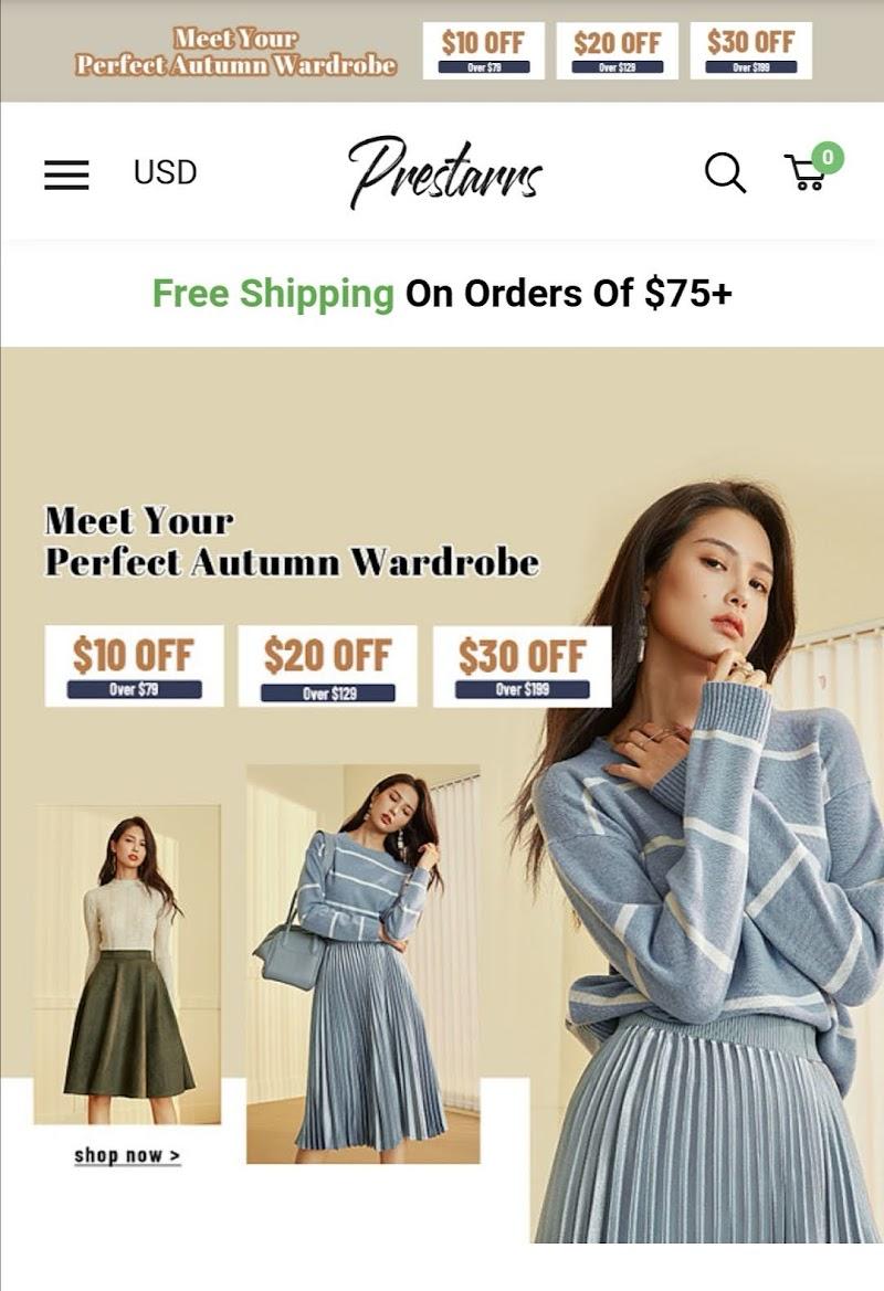 Prestarrs - Womens Clothing Online Store