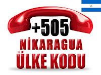 +505 Nikaragua ülke telefon kodu