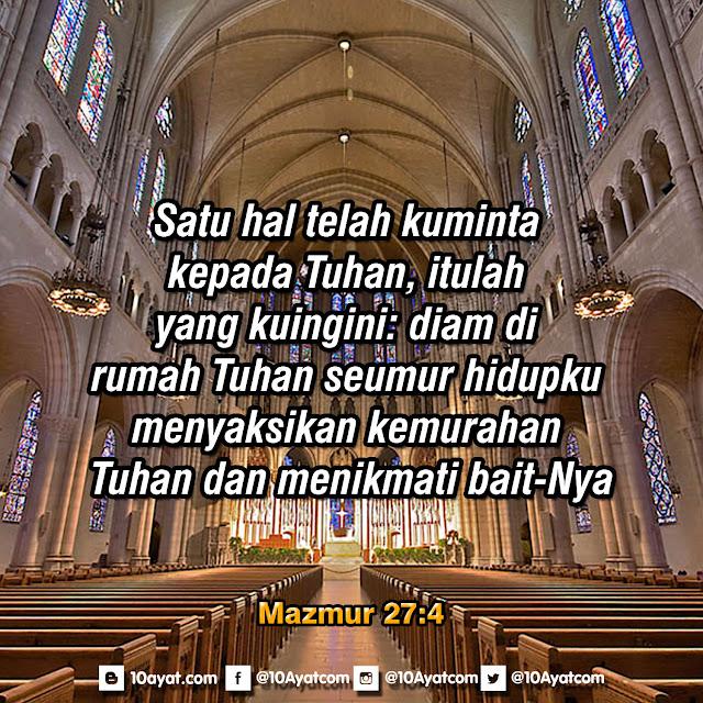 Mazmur 27:4
