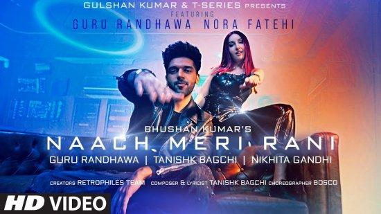 Naach Meri Rani Lyrics Guru Randhawa X Nikhita Gandhi | Nora Fatehi