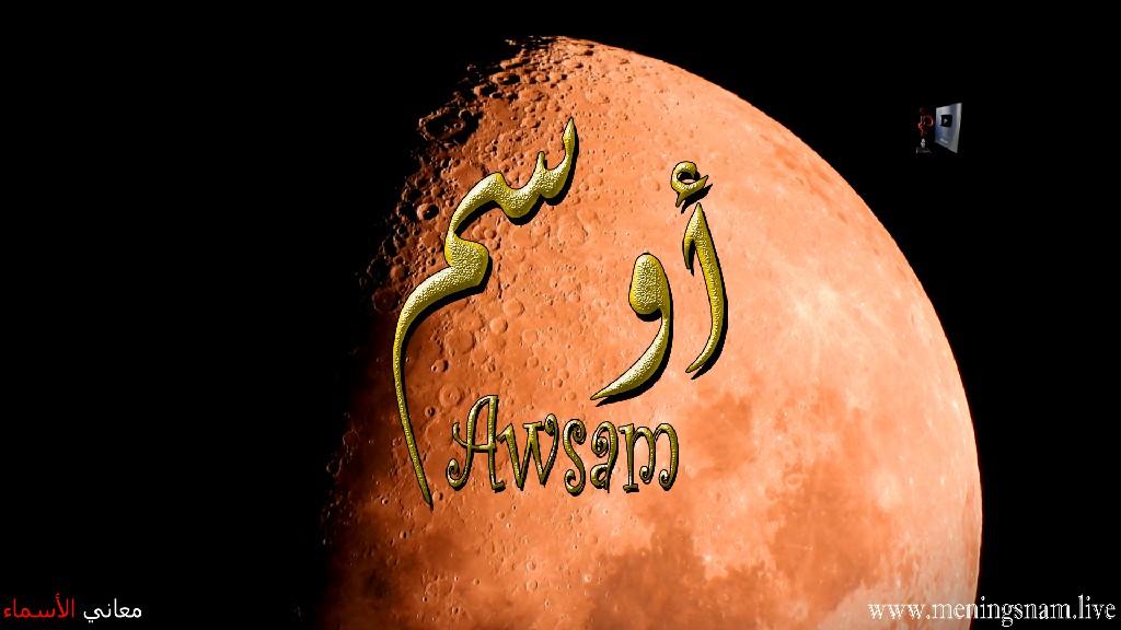 معنى اسم اوسم وصفات حامل هذا الاسم Awsam