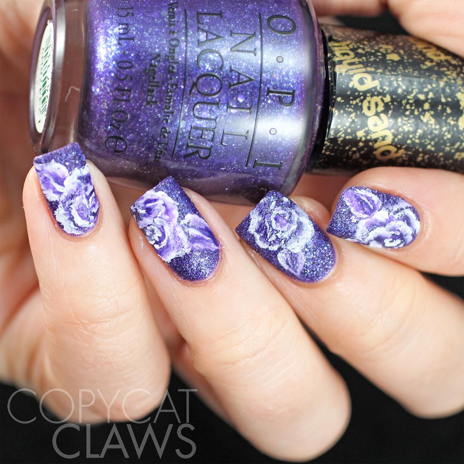 Nail art color violet - 40 Great Nail Art Ideas Violet
