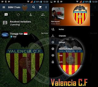 Kumpulan BBM Mod Thema Klub Sepak Bola Versi new