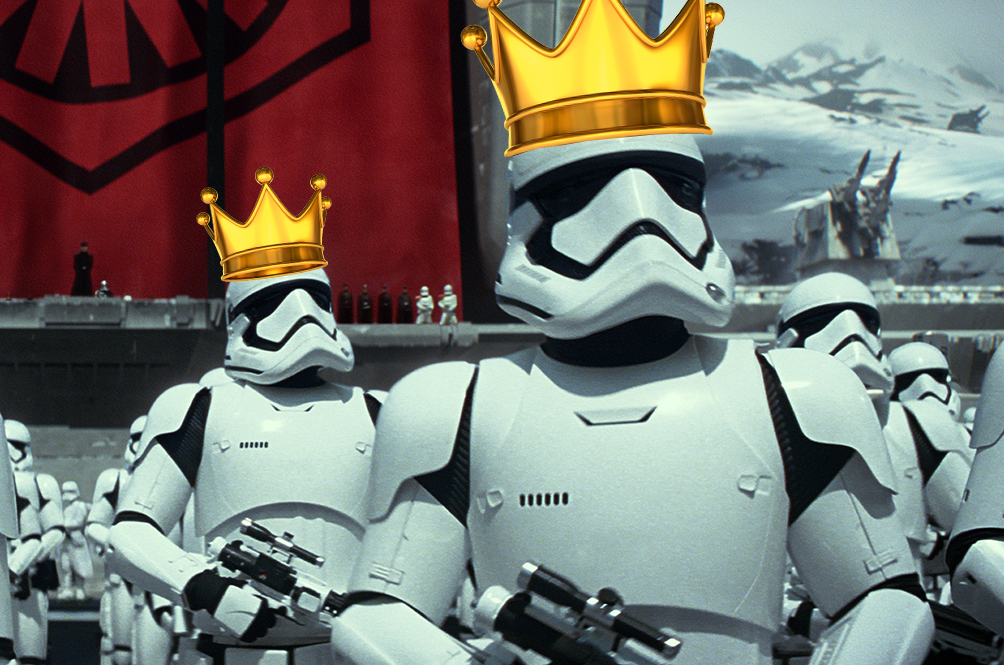 Royal troopers: Prince William and Prince Harry