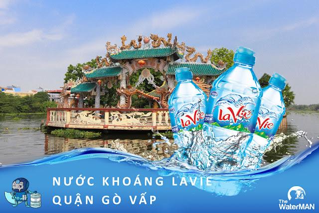 Đại lý đặt nước khoáng Lavie, Viva bình 20L, thùng đóng chai tại quận Gò Vấp