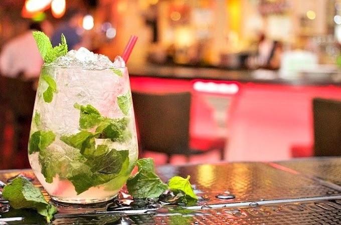 Champagne Mojito Cocktail