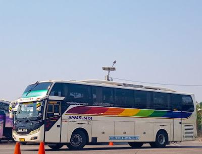 Foto Bus Sinar Jaya 89RC
