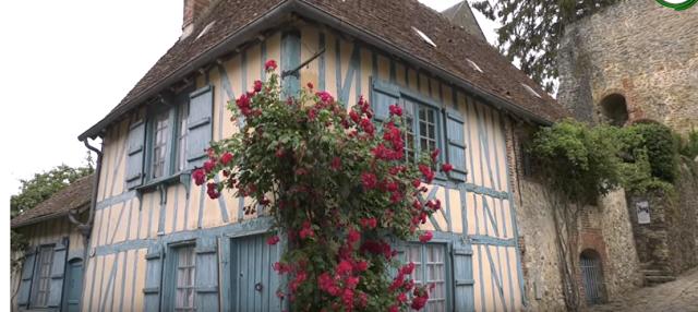 Visite du village jardin de Gerberoy (vidéo)