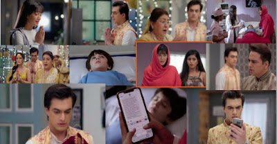 "Yeh Rishta Kya Kehlata Hai Episode 8th August 2019 Written Update "" Kartik is In Shock to See Naira's Message ""."