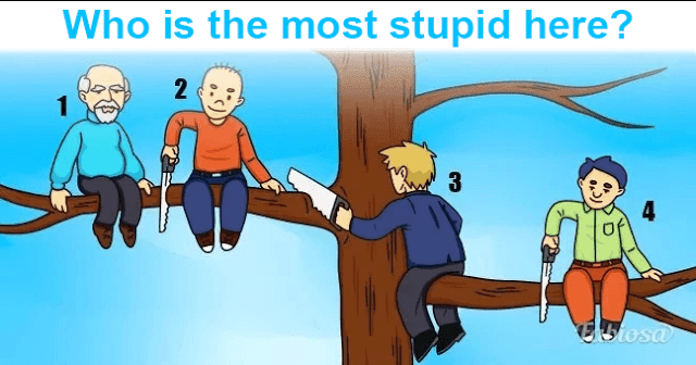 Choose Who's The Dumbest Man In This Picture And Find Out Your Personality Type