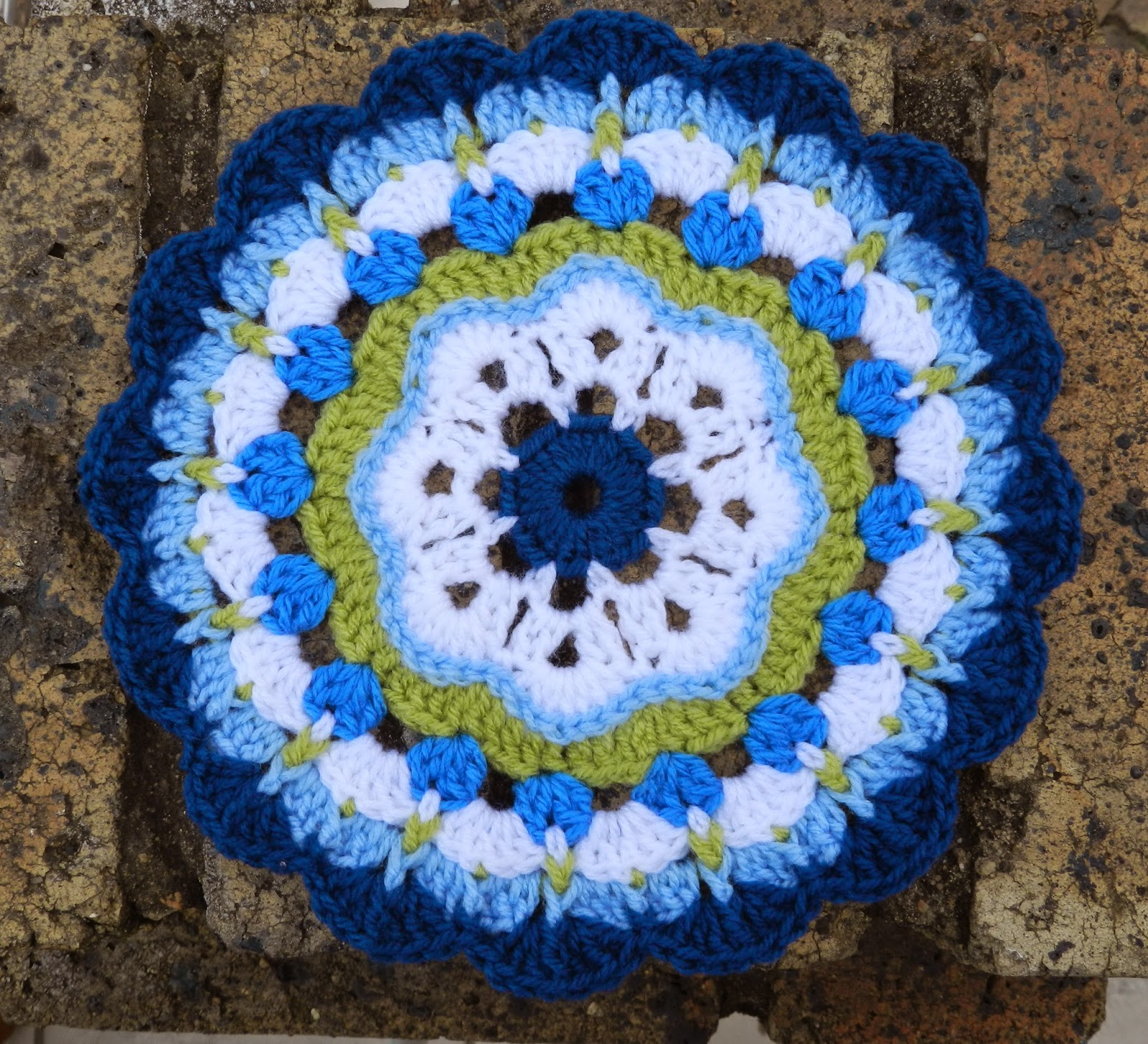 Sunshine And A Sewing Basket Maybelle Flower Mandala Pattern