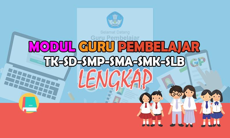 Modul Moda Daring Kombinasi Mapel Bhs. Indonesia SMP