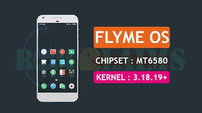 Flyme OS V6.7.0 Custom Rom For Mediatek MT6580 Marshmallow 3.18.19+ Kernel